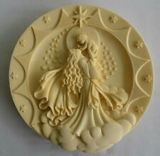 """Roman Inc. """"Cause of our Joy"""" Sculptured 3D Plate / Wall Hanging. Christmas"""