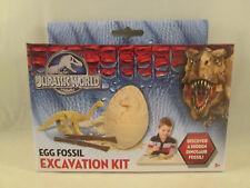 Jurassic World Egg Fossil Excavation Kit - Movie Universal Park Model Dino