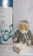 Master Piece Gallery Constance Loewe Cloth Over Porcelain used Doll Iva w/box