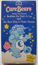 Care Bears BEDTIME FOR CARE-A-LOT & THE BEST WAY TO MAKE FRIENDS VHS VIDEO