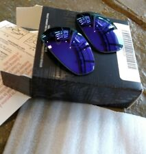 OAKLEY JULIET VIOLET IRIDIUM POLARIZED AUTHENTIC REPLACEMENT LENSES (CUSTOM CUT)
