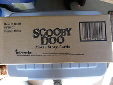 SEALED CASE OF SCOOBY DOO MOVIE TRADING CARDS! INKWORKS!! 10 BOXES PER CASE!!