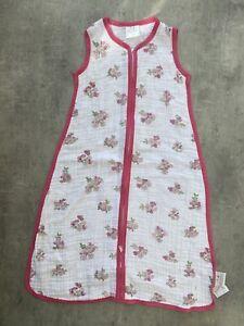 Aden Anais Baby Girls Sleeping Bag Medium 6-12 Months 1 Tog Summer Floral