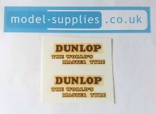 Dinky 451 Trojan Van Dunlop Reproduction Waterslide Transfers