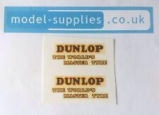 Dinky 451 Trojan Van Dunlop Reproduction Waterslide Transfers