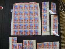 155 TIMBRES MARIANNE A LA NEF  N° 1234  dont 6 COINS DATES
