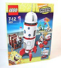 Lego ® SpongeBob 3831 cohete OVP misb 2008
