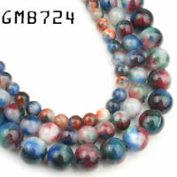 Natural Stone Beads Mixed Colors Persian Jades 6 8 10mm Round Loose Beads