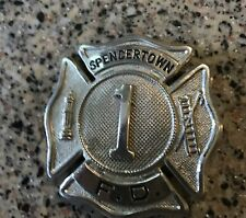 Old Fireman's Pin - Spencertown Fire Dept., 1, Spencertown, NY, Columbia Cty NY