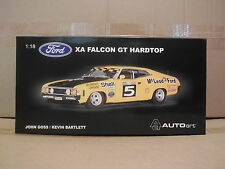 1/18 AUTOART BIANTE  FORD XA FALCON GT  # 5  GOSS / BARTLETT  BATHURST 1973