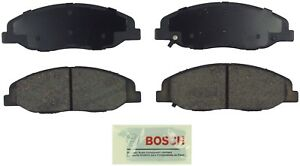 For Cadillac CTS 2008-2014 STS 2009-2011 Front Blue Disc Brake Pads Bosch BE1332