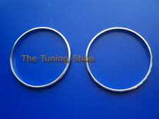 For Vauxhall Astra MK5 H Air Vents Rings Polished Aluminium Trim Surrounds x 2
