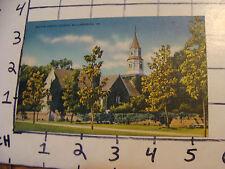 Unused Postcard: Virginia WILLIAMSBURG, bruton parish church