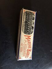 Vintage M. Hohner Marine Band Harmonica No 1896 in Original Box