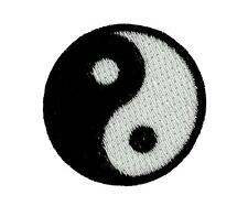 Patch ecusson brode thermocollant ying yang kung fu karate