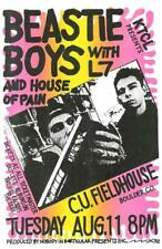 THE BEASTIE BOYS BOULDER CO 1992 CONCERT POSTER HOUSE OF PAIN L7