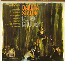 "DAKOTA STATON / BENNY CARTER ""ROUND MIDNIGHT"" VOCAL JAZZ LP 1960 CAPITOL 1597"