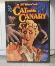 The Cat and the Canary (DVD, 2004) RARE 1927 HORROR MYSTERY BRAND NEW