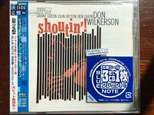 """New CD Don Wilkerson """"Shoutin' Grant Green Blue Note (Japan) free US shpping"""