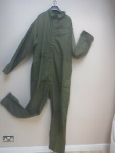 NEW OG OLIVE GREEN COVERALS OVERALLS FR FLAME RETARDANT Flightsuit GOODWOOD