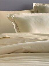 Donna Karan Ultra Fine Collection Duvet Cover 600Tc Cotton Queen Gold Nip$250