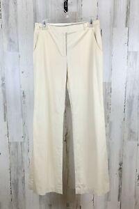 David Meister Women's Wide Leg Pants Dress Slacks Beige Size 2 NWT
