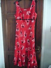 PRECIS PETITE LINEN MIX DRESS size 14 BNEW