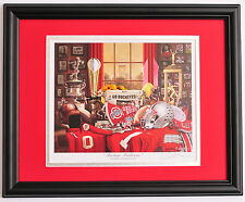 Ohio State National Championship Buckeye Tradition framed & matted print