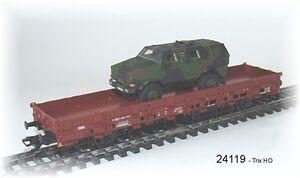 "Trix 24119 Fahrzeug-Transport""Dingo"" der DB AG beladen mit Dingo #NEU in OVP#"