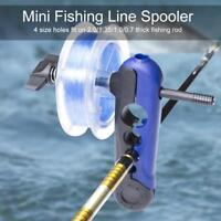 Portable Fishing Line Winder Reel Spooler Machine Spooling Station System BT