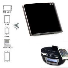Wireless Bluetooth 4.0 APTX Music Audio Receiver For iPhone 30Pin Dock Speaker