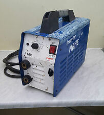 MAHE i-160 MMA WELDER  complete with welding leads, and warranty