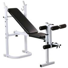 Olympic Folding Weight Bench Incline Lift Workout Training Press Home