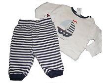 C & A toller Schlafanzug Gr. 68 blau-weiß mit Schiff Motiv !!