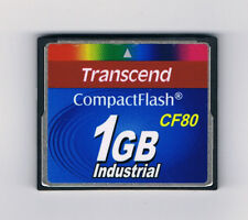 Transcend CompactFlash Card (CF) 80x 1GB Industrial