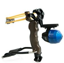 Compound Fishing Slingshot for Arrows Comes With Flashlight Mount Fishing Spool