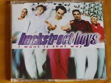 "MAXI-CD ""BACKSTREET BOYS - I WANT IT THAT WAY"""