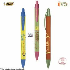 Promotional BIC WideBody Pen Custom Printed with your logo or Text - 300 QTY