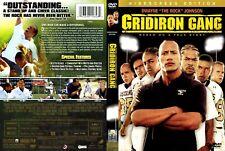 "Gridiron Gang (Widescreen Edition) - DVD - Dwayne ""The Rock"" Johnson FREE S/H"