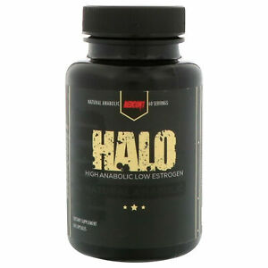 Redcon1 HALO Natural Anabolic Muscle Builder 60 capsules Laxogenin