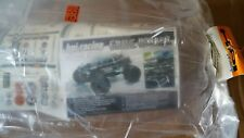 Unpainted Clear RC Body HPI Grave Robber Hearse 1/8 Savage T Maxx E Revo Summit
