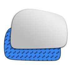 Right wing adhesive mirror glass for Daewoo Musso 1993-2006 211RS