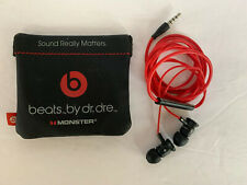 Genuine Beats by Dr. Dre UrBeats MONSTER In-Ear Earphones with Silicone Pouch
