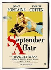 September Affair 1950 DVD - Joseph Cotton, Joan Fontaine