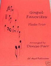 *NEW RELEASE* Gospel Favorites Flute Trio by  D.Parr