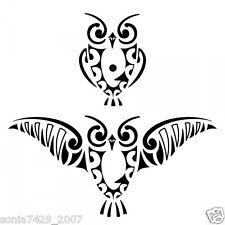 Hoot Owl Window Vinyl Decal Sticker Car Truck Tribal Funny Diesel Car (2) Owls