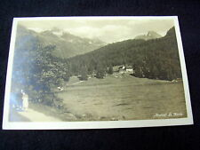 LOVELY OLD PPC: ST. MORITZ~MEIEREI~ca. 1928~ANIMATED