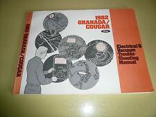 1982 Granada/Cougar Electrical & Vacuum Trouble Shooting Manual Vintage