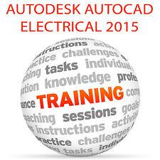 Autodesk AUTOCAD ELECTRICAL 2015 - Video Training Tutorial DVD