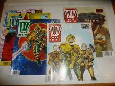The BEST Of 2000 AD MONTHLY Comic - JOB LOT - No's, 55, 56, 57, 58, 59 UK Comics